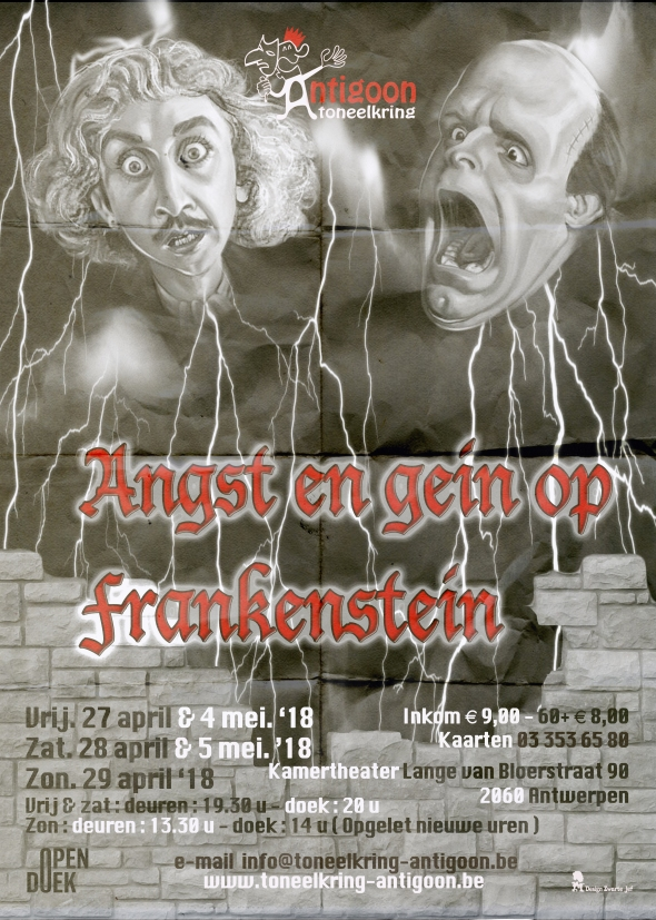 Angst & Gein in Frankenstein+Canvas 5 mm - 2